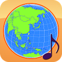 Globe Earth 3D: Flags, Anthems and Timezones