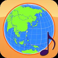 地球儀與國旗國歌 世界時區 (ISO 3166-1)