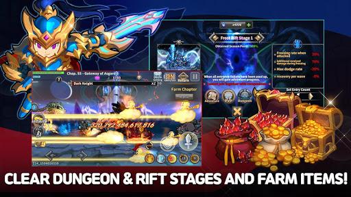 Raid the Dungeon : Idle RPG Heroes AFK or Tap Tap 1.8.1 screenshots 19