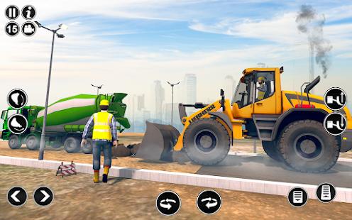 Road Construction Simulator - Road Builder Games  Screenshots 5