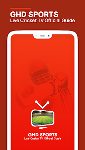 GHD SPORTS – Live Cricket TV Official Guide Apk Download 2021 1