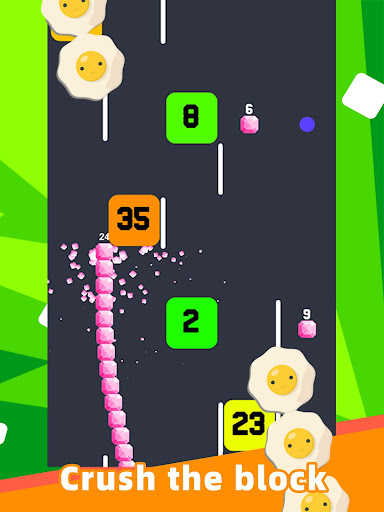 Slide And Crush - redesign snake game apktram screenshots 9