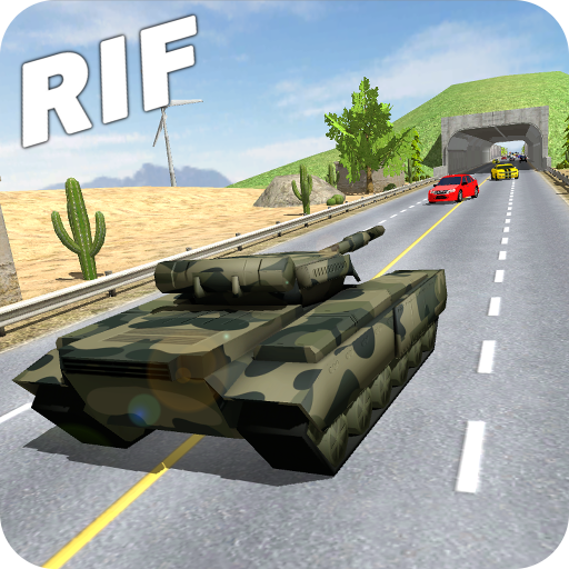 Racing in Flow - Tank Icon