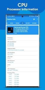 Device Info : View Device Information Mod Apk v3.1.6 (Donate) 3