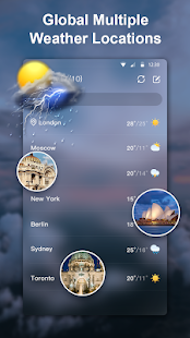 Weather Live - Accurate Weather Forecast 1.2.1 Screenshots 5