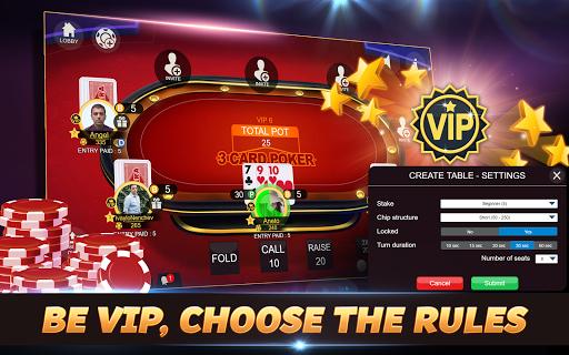 Svara - 3 Card Poker Online Card Game 1.0.12 screenshots 11