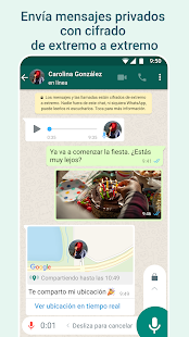 Снимка на екрана на WhatsApp Messenger