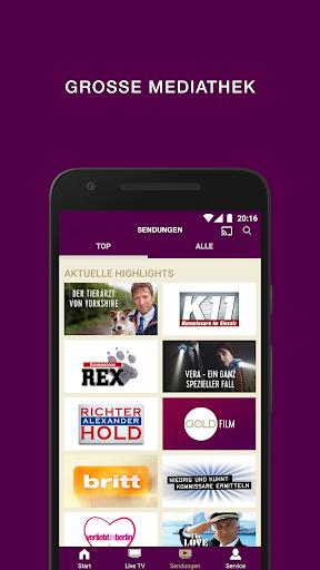 SAT.1 GOLD - Kostenloses TV und Mediathek  screenshots 2
