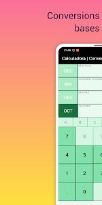 Binary Calculator Hexadecimal to decimal converter 5.0
