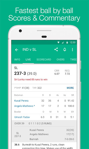 Cricbuzz - Live Cricket Scores & News screen 2