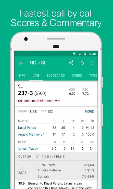 Cricbuzz - Live Cricket Scores & News  poster 2