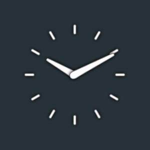 Clean Clock Widget