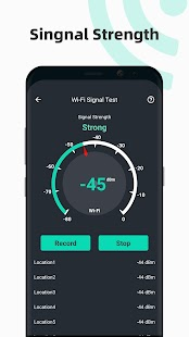 Internet speed test Meter- SpeedTest Master Screenshot
