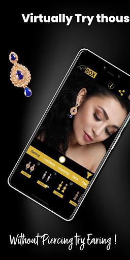 XPBOX - Jewellery Virtual Try On !  screenshots 1