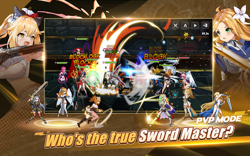 Sword Master Story - Epic AFK & Online Action RPG modavailable screenshots 15