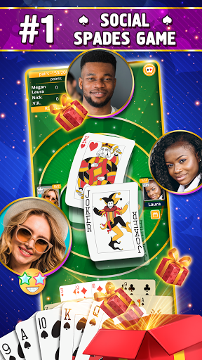 VIP Spades - Online Card Game 3.7.5.100 screenshots 1