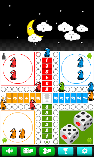 parcheesi - horse race chess screenshot 1