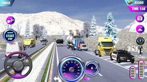 American Truck Driver Simulator- Cargo Truck Game  screenshots 1