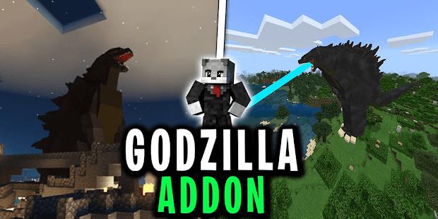 Godzilla Mod for Minecraft pe 1.0 screenshots 1