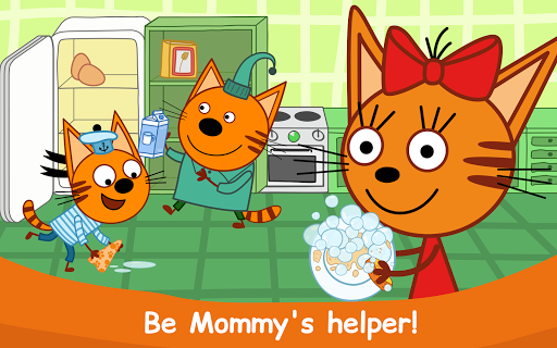 Kid-E-Cats: Cooking for Kids with Three Kittens!  screenshots 12