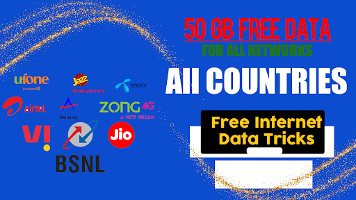 Get Free Data and Network Packages 2021