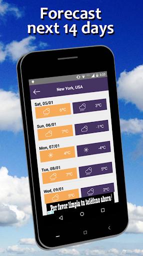 Weather Forecast free 5.7 screenshots 3