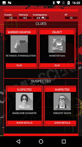 Detective Games: Crime scene investigation 1.3.4 Screenshots 1