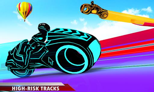 Mega Ramp Light Bike Stunts: New Bike Racing Games modavailable screenshots 4