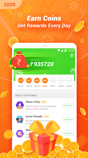 VClip - Ur Video Status, Indian Whatsapp Status  Screenshots 3