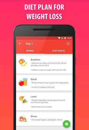 Lose Weight In 21 Days - Weight Loss Home Workout 3.0.0.4 Screenshots 6