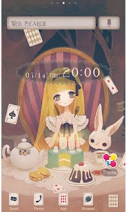 Alice's Tea Party Wallpaper 1