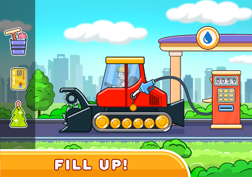 Car games for kids: building and hill racing 0.1.9 screenshots 13