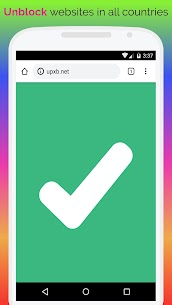 UPX Unblock Websites Proxy Browser – Private, Fast APK 1