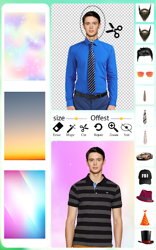 Men T-Shirt Photo Editor and Sweatshirt Dress apktram screenshots 6
