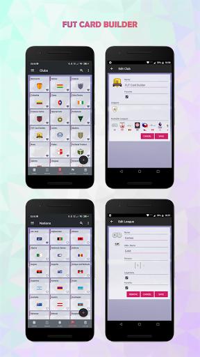FUT Card Builder 20 6.0.1 screenshots 6