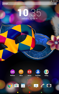 Harlequin Theme for Xperia