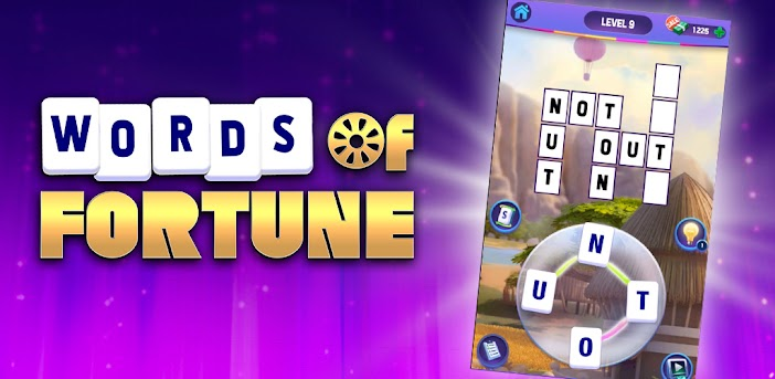 Words of Fortune: Word Games, Crosswords, Puzzles