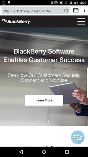 blackberry access screenshot 1