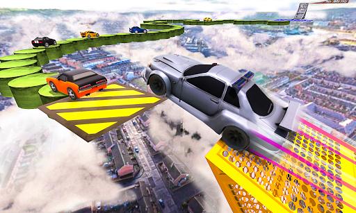 Télécharger Super Car Stunts : Impossible Track Challenge 2020 APK MOD (Astuce) screenshots 2
