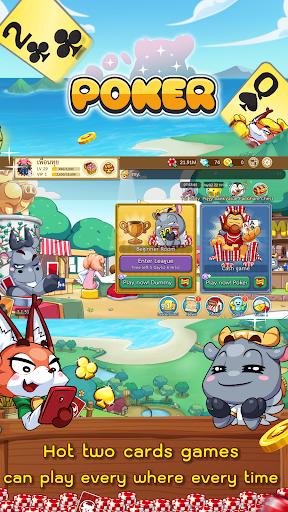 Dummy & Toon Poker Texas slot Online Card Game  Screenshots 20