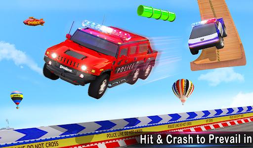 Police Ramp Car Stunts GT Racing Car Stunts Game android2mod screenshots 18