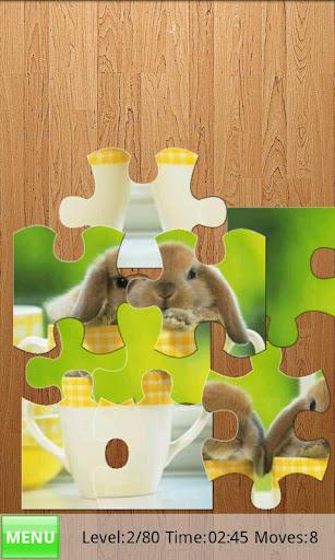 rabbits jigsaw puzzles screenshot 2