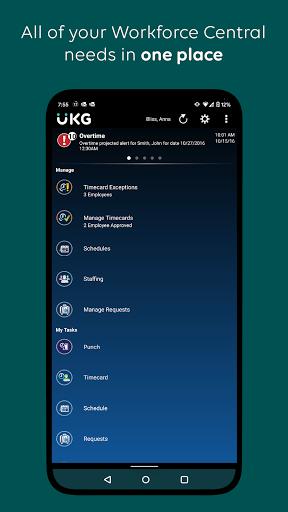 UKG Workforce Central apktram screenshots 1