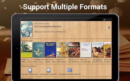 EBook Reader & Free ePub Books android2mod screenshots 9