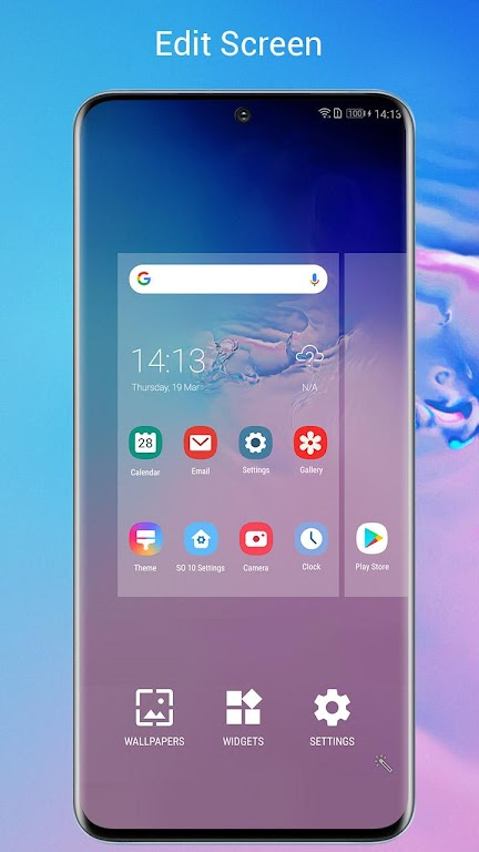 SO S20 Launcher for Galaxy S,S10/S9/S8 Theme  poster 5