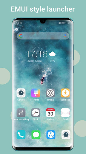 Cool EM Launcher - for EMUI launcher 2020 all 5.4 screenshots 1