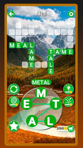 Around the Word: Crossword puzzle  screenshots 1