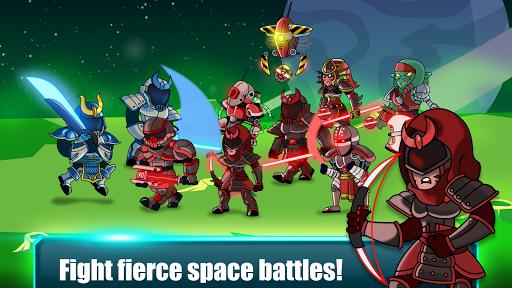 Space Warriors - Sci-fi Strategy Combat Game  APK MOD (Astuce) screenshots 3