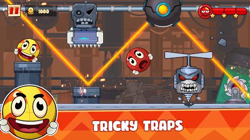 Ball's Journey 6 - Red Bounce Ball Heroes screenshots 3