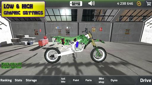 Motorbike  Online Drag Racing - Wheelie racing 3D screenshots 16